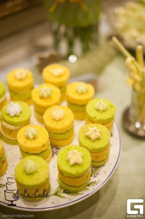 открытые мини тортики - фото 1773353 Надежда Алябьева - свадебные торты