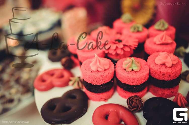 Кренделя в глазури,открытые мини тортики - фото 1773375 Надежда Алябьева - свадебные торты