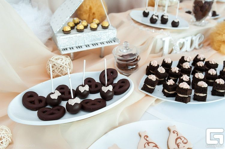 Фото 2507941 в коллекции Candy Bar- маленькие сладости! - Надежда Алябьева - свадебные торты
