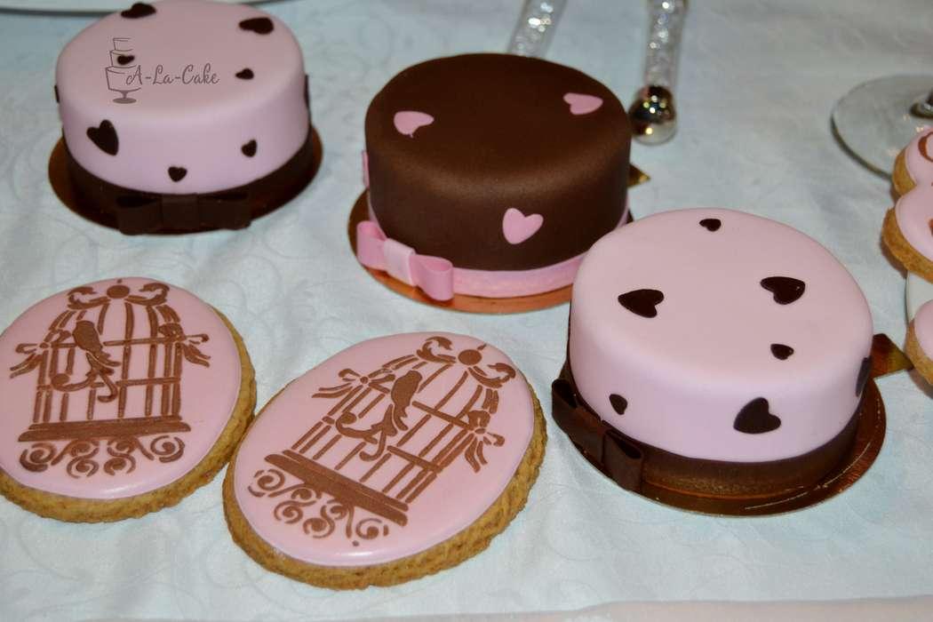 Фото 2507975 в коллекции Candy Bar- маленькие сладости! - Надежда Алябьева - свадебные торты