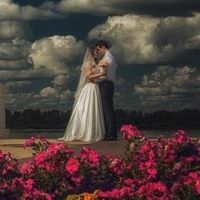 Лена и Саша поженились 8 августа 2013