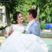 Юля и Андрей поженились 6 июня 2014