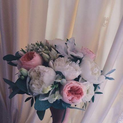 Букет невесты с гладиолусами