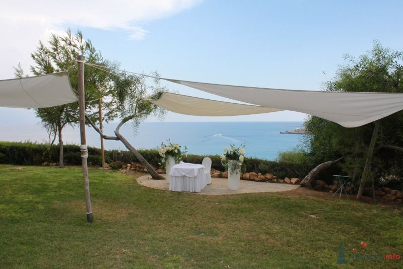 Место церемонии в Grecian Park 5*