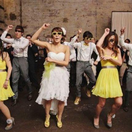 Свадебный коллективный танец