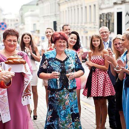 Проведение свадьбы в русском стиле, 6 часов