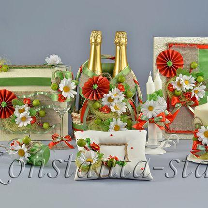 Яблочно-ромашковая коллекция аксессуаров