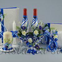 Коллекция свадебных аксессуаров Лазурь