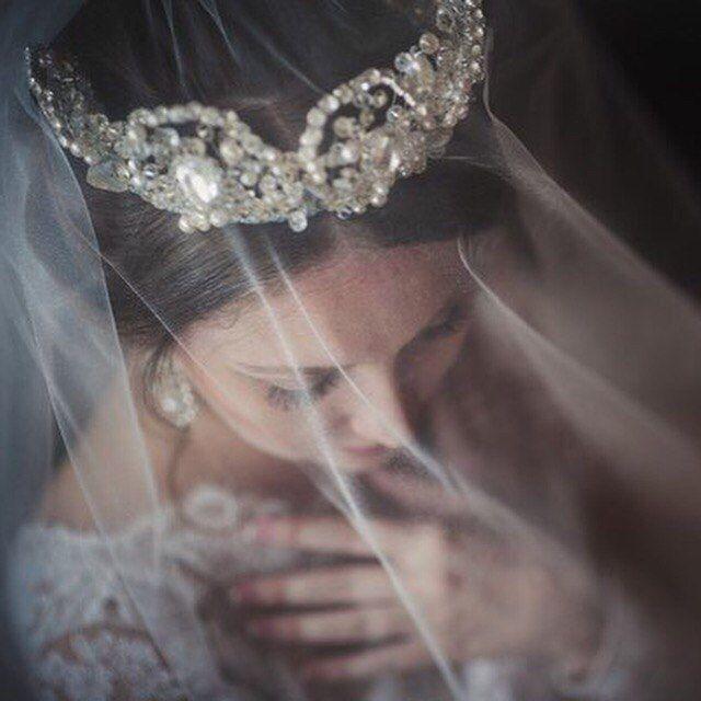 Тиара для невесты своими руками