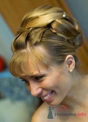 Фото 2215 в коллекции Вечерняя прическа на длинные волосы - Визажист-стилист свадебного образа Лариса Костина