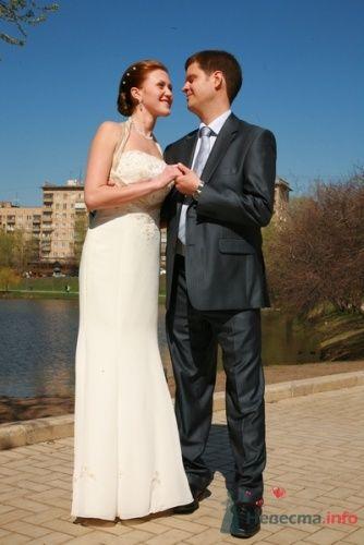 Фото 21659 в коллекции Мои Невесты - Визажист-стилист свадебного образа Лариса Костина