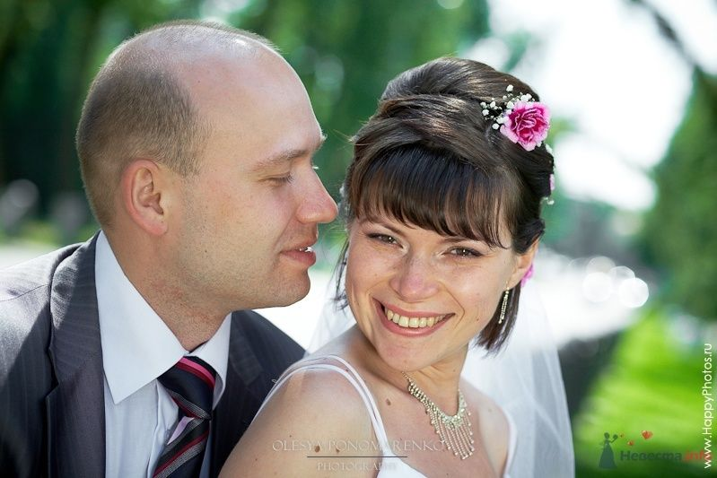 Фото 29117 в коллекции Свадебные прически с живыми цветами - Визажист-стилист свадебного образа Лариса Костина