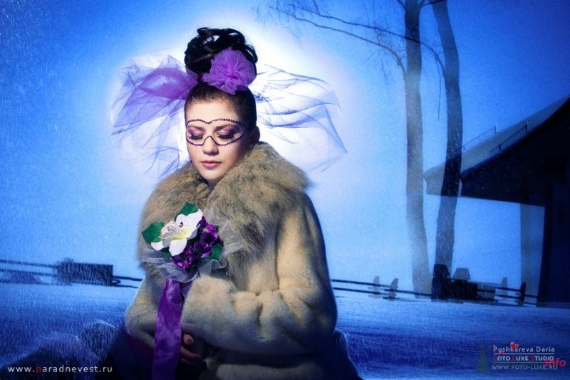 Сиреневые сумерки - фото 68633 Визажист-стилист свадебного образа Лариса Костина