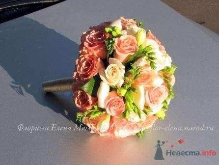 Фото 44298 в коллекции Букет невесты-Мои работы - Цветочная мастерская Флорины