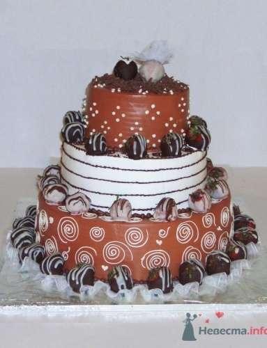 Торт Шоколадное танго - фото 557 Компания Magic Сake