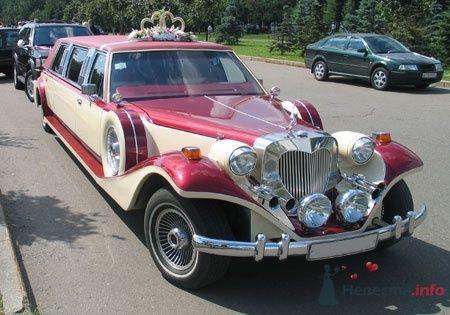 Excalibur Phantom, крем-бордо, 7 мест - фото 2773 Vip Limousine - аренда авто