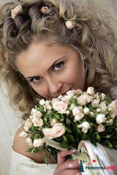 Фото 95396 в коллекции Свадебные прически (фотографии сняты не мной)  - Wamira