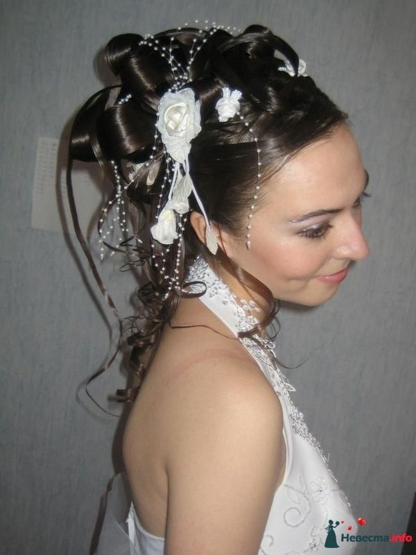 Фото 95401 в коллекции Свадебные прически (фотографии сняты не мной)  - Wamira