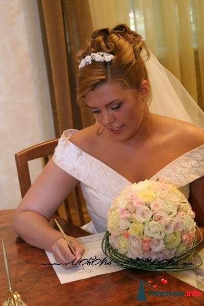 Фото 95478 в коллекции Свадебные прически (фотографии сняты не мной)  - Wamira
