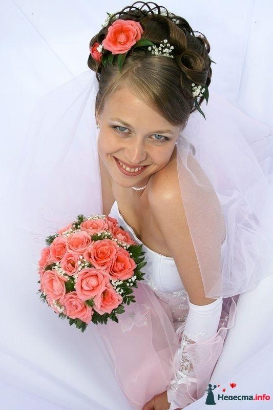 Фото 95517 в коллекции Свадебные прически (фотографии сняты не мной)