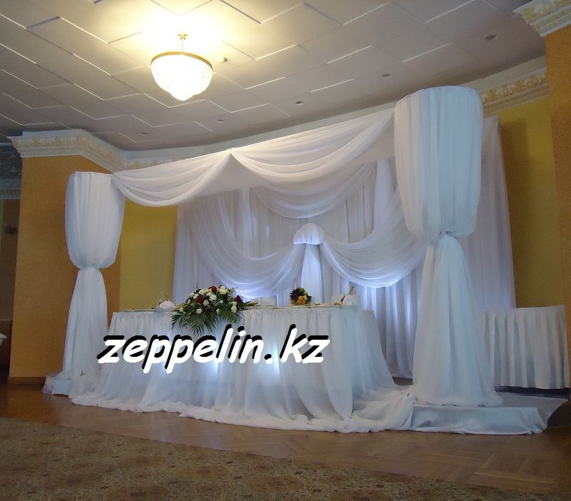 Оформление свадьбы в ресторане Жалын - фото 513786 Корпорация праздников - студия оформления