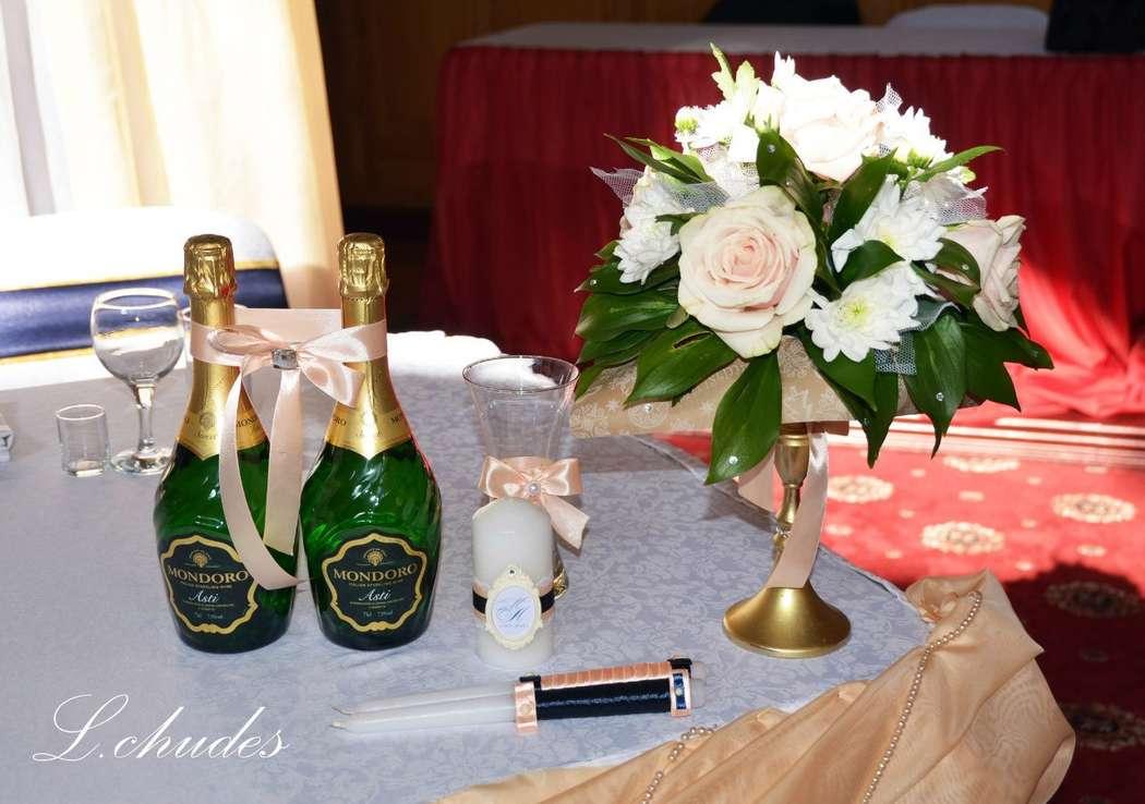 Фото 12996664 в коллекции Свадебные наборы ручной работы. - L.chudes - студия декора и флористики