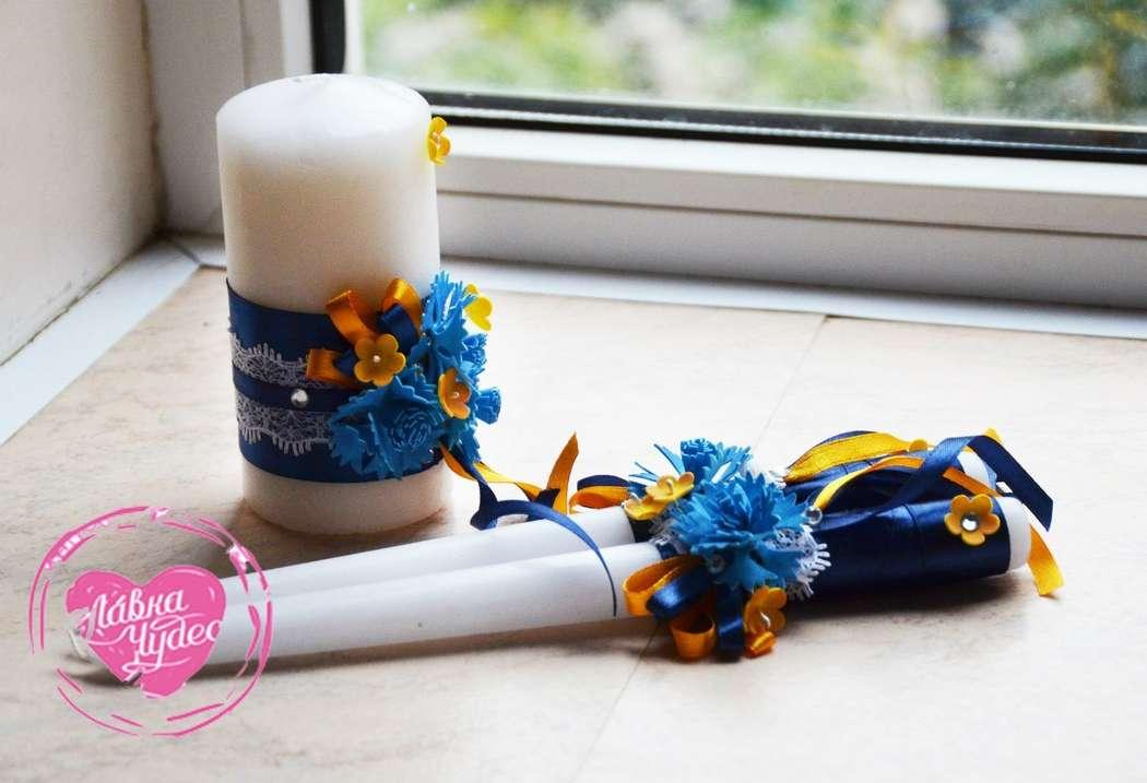 Фото 12996674 в коллекции Свадебные наборы ручной работы. - L.chudes - студия декора и флористики