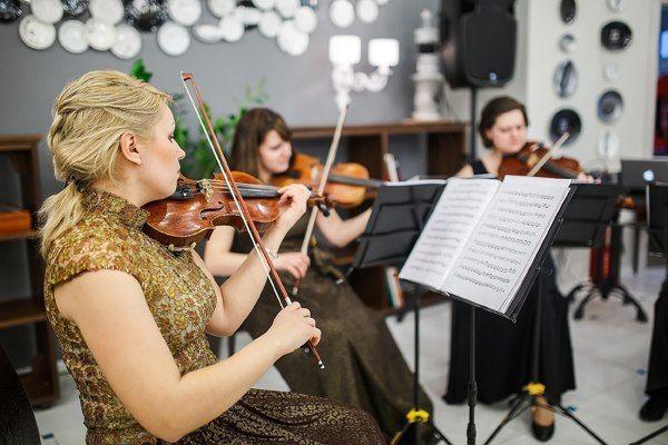 Фото 9385724 в коллекции Открытие Делового кафе tmn - Скрипичное соло Ekaterina Grand