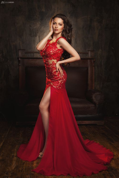 Фото в длинном платье идеи