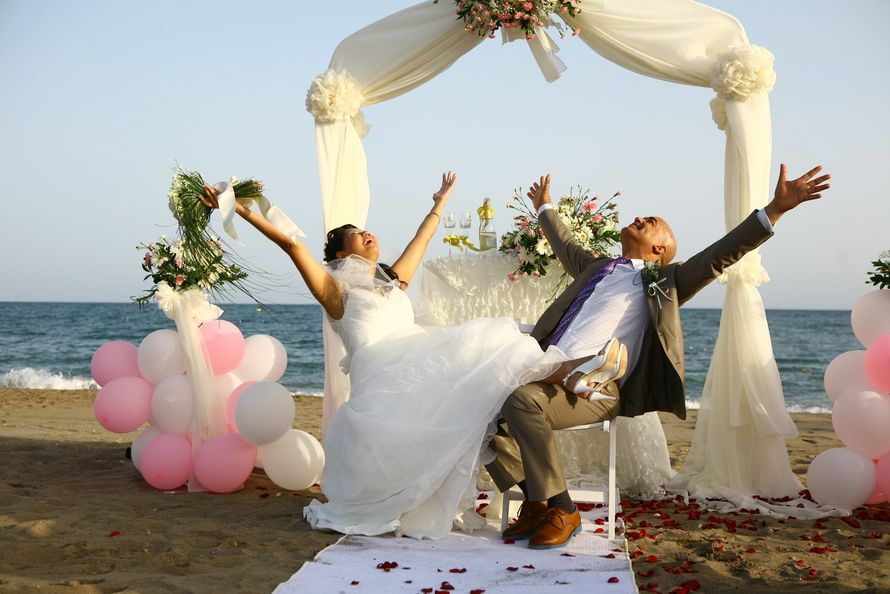 Фото 7126234 в коллекции Свадьбы в Турции - Свадебноe агентство Wedding City Antalya