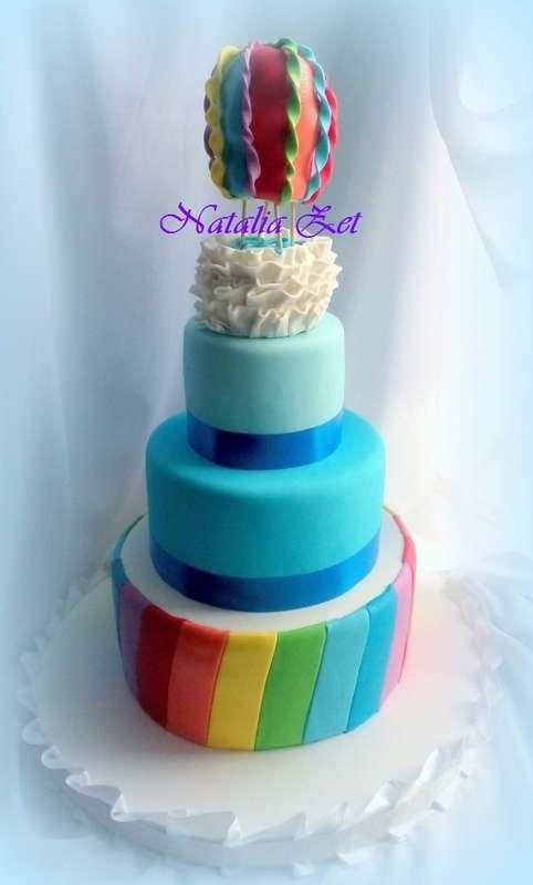 Фото 4236823 в коллекции Свадебные торты - Кондитер Наталья Zet