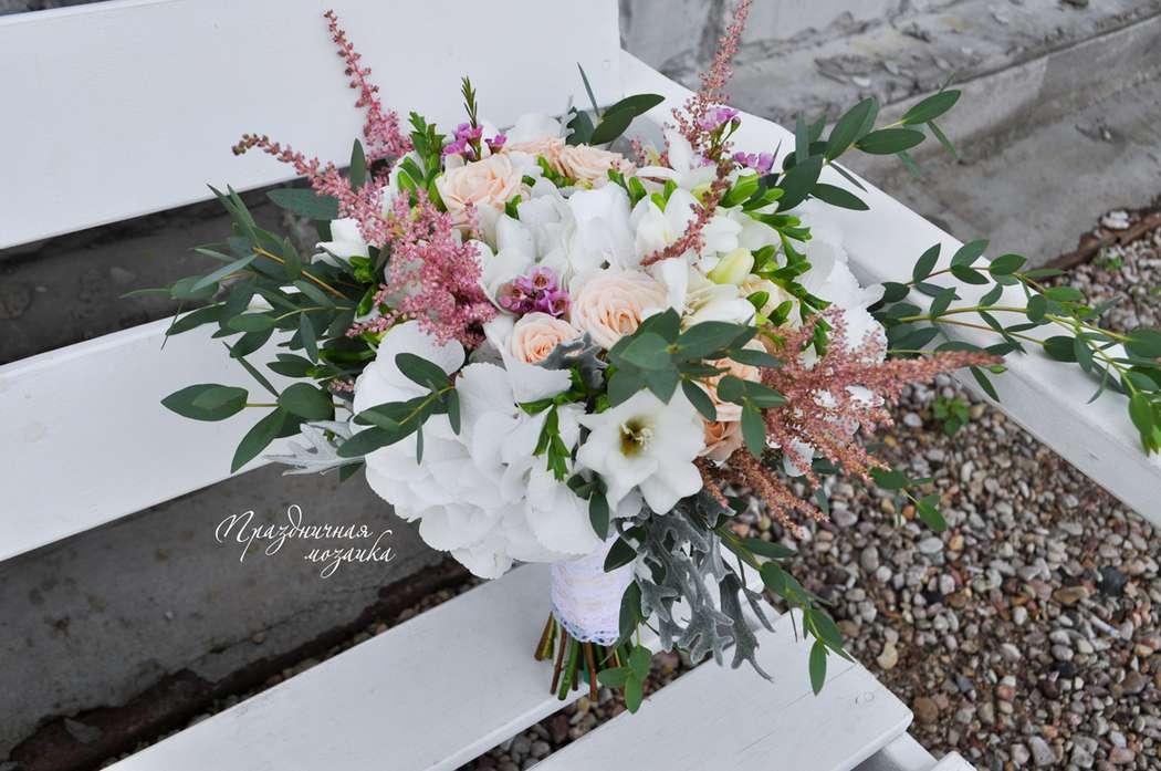 """Фото 11905054 в коллекции Букет невесты - Студия флористики и декора """"Праздничная мозаика"""""""