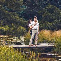 Love story, фотосессия на природе