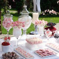 Свадьба в розово-белых тонах