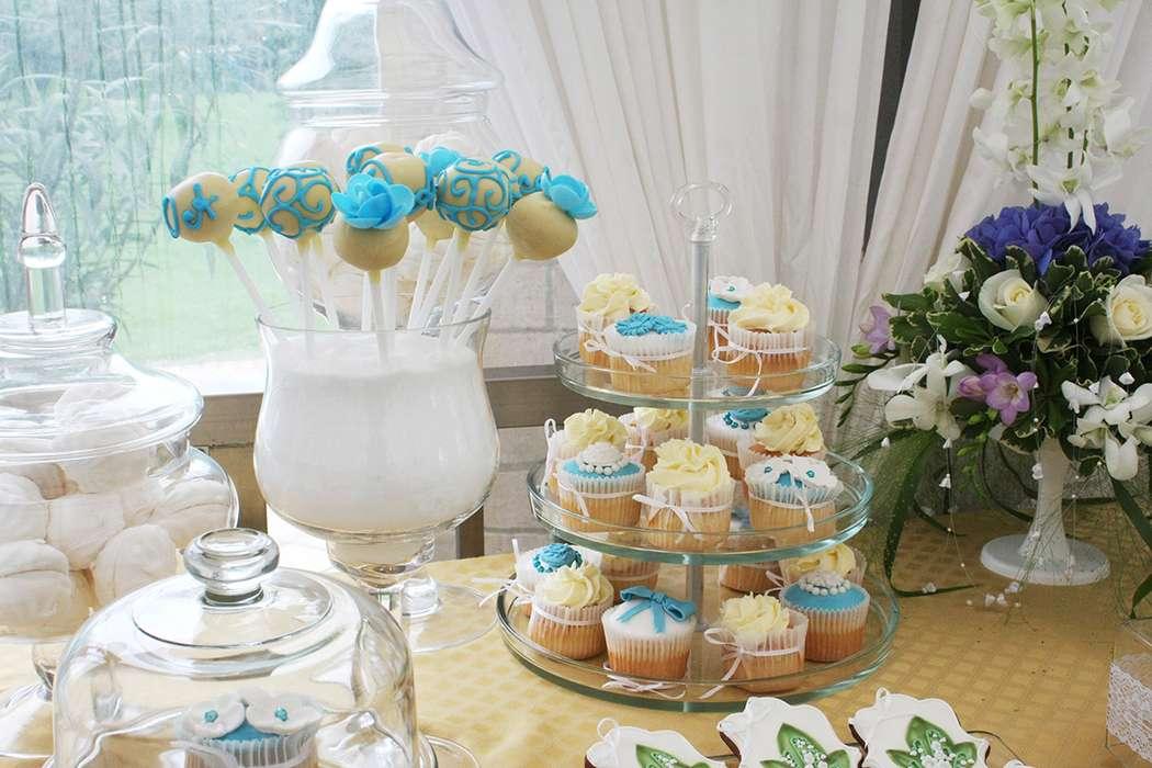 Кенди бар свадьба своими руками голубые тона 31