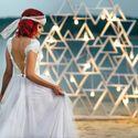 Вечерняя церемония с элементами геометрии