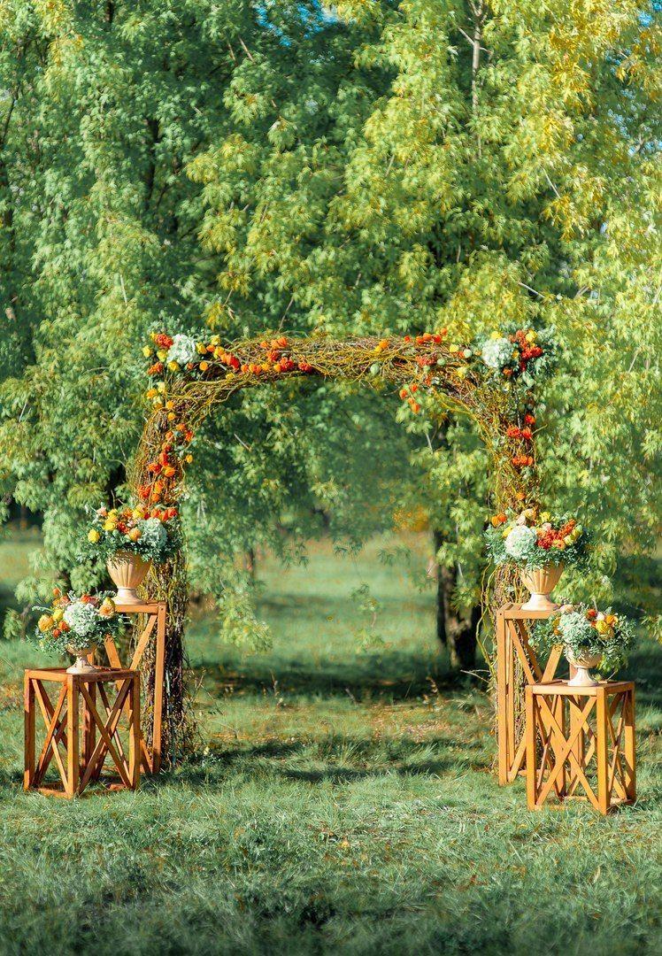 """Осенняя выездная церемония - фото 16526960 Мастерская оформления свадеб """"Magic garden"""""""