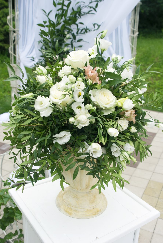 """бело-зеленая свадьба - фото 17766250 Мастерская оформления свадеб """"Magic garden"""""""