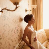 сборы невесты в стиле будуар