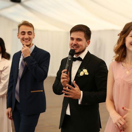 Проведение свадьбы за границей в дуэте с соведущим + DJ (без аппаратуры)