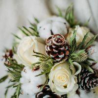 Утро невесты. Сборы. Зимний букет невесты.