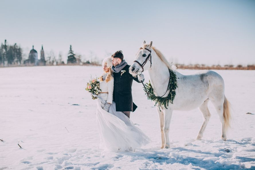 Свадьба зимой. Организация свадебное агенство CandyDandy. - фото 9034304 Фотограф Марина Назарова