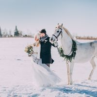 Свадьба зимой. Организация свадебное агенство CandyDandy.