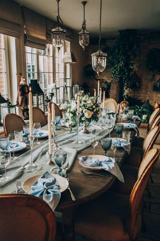 Очень уютное и стильное оформление банкета на уютной, камерной свадьбе. Невероятно красивое сочетание дерева и нежных цветов. Свечи создают неповторимую атмосферу! Концепция, декор, флористика Аня Малышева. Фото Марина Назарова. - фото 10236734 Фотограф Марина Назарова