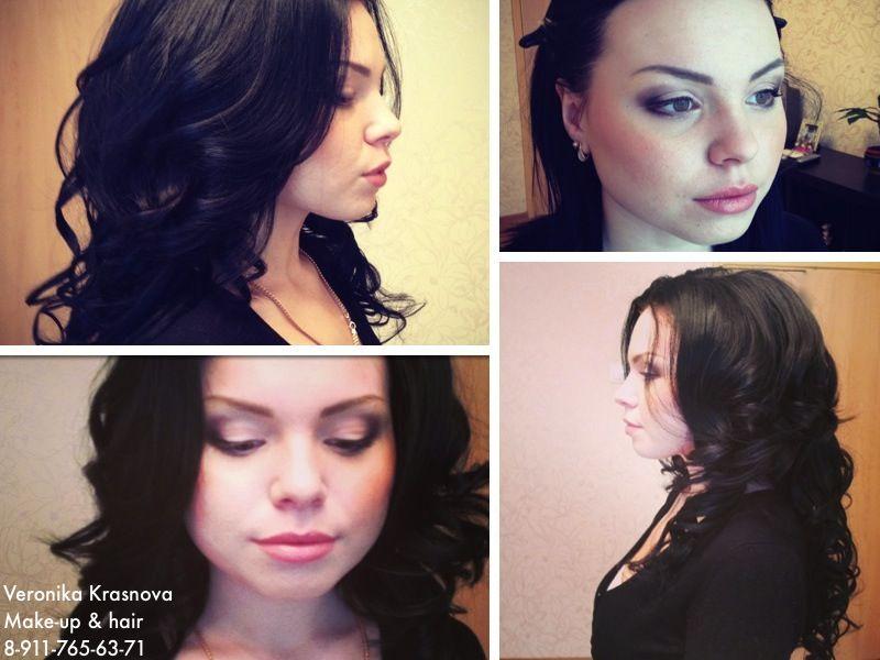 Фото 859091 в коллекции Мои невесты (прически и макияж) - Стилист Вероника Краснова