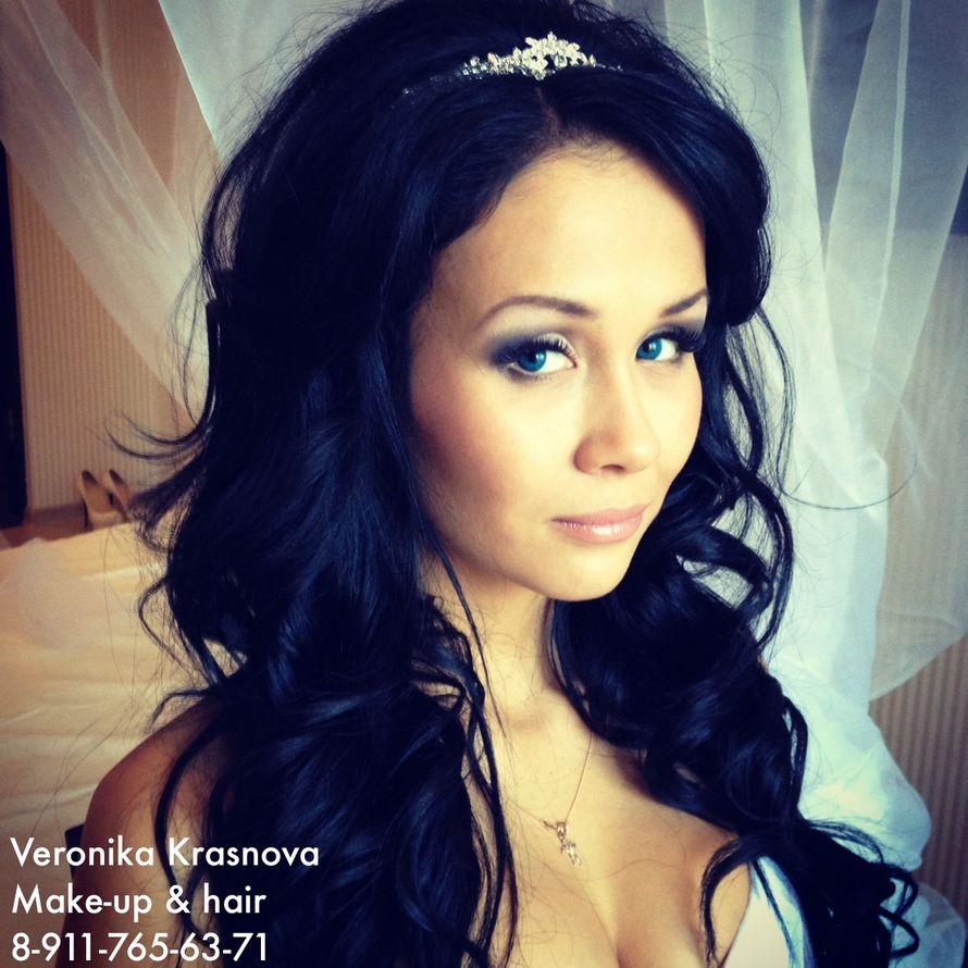 Фото 859097 в коллекции Мои невесты (прически и макияж) - Стилист Вероника Краснова