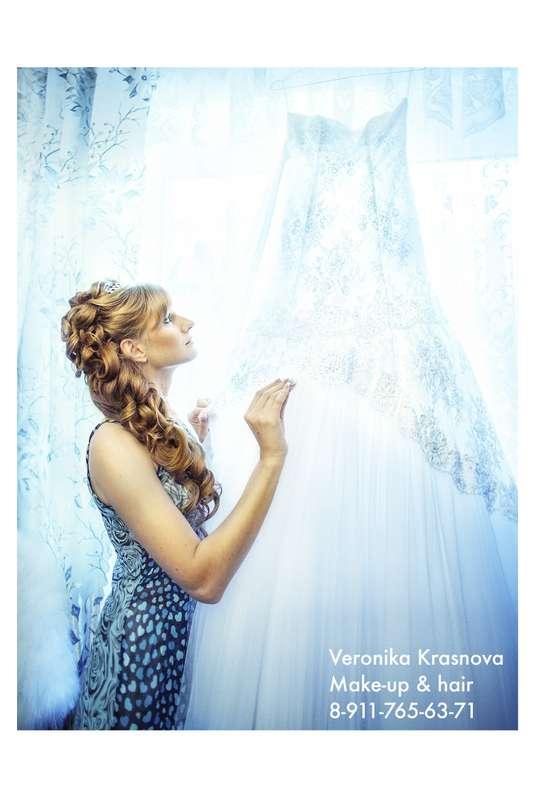 Фото 859107 в коллекции Мои невесты (прически и макияж) - Стилист Вероника Краснова