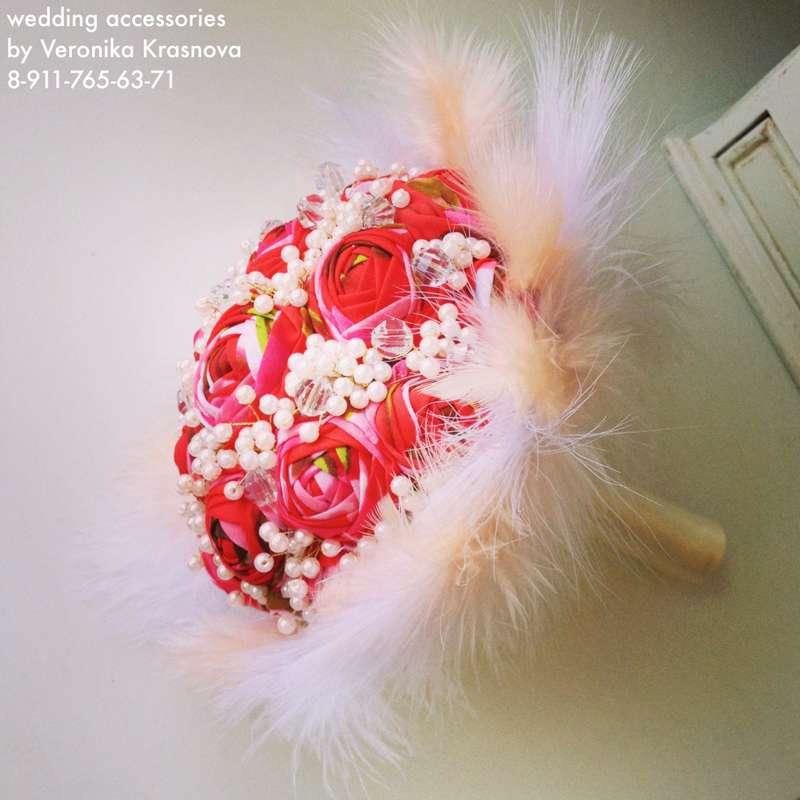 Фото 1173511 в коллекции Букеты невесты из лент и брошей - Стилист Вероника Краснова