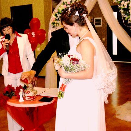 Церемония Выездной регистрации бракосочетания. Песочная церемония