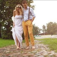 прогулка после дождя свадьба